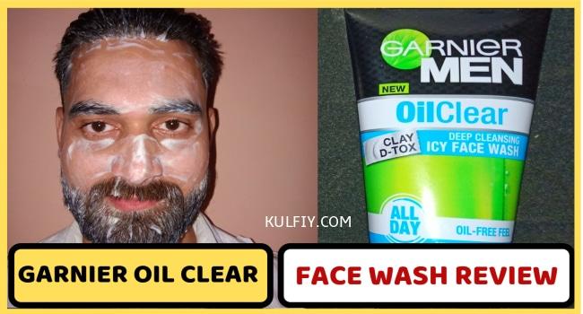 Garnier Oil Clear face wash