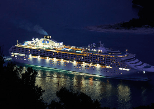Luxury Cruise Ships in the World