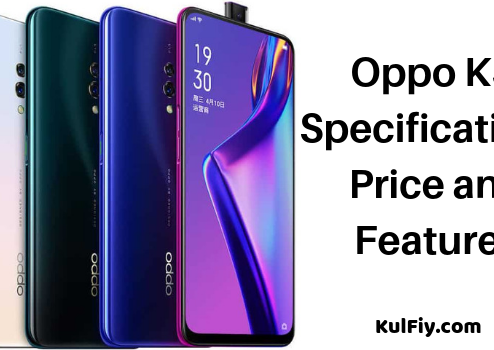 Oppo K3 Specifications Price and Features