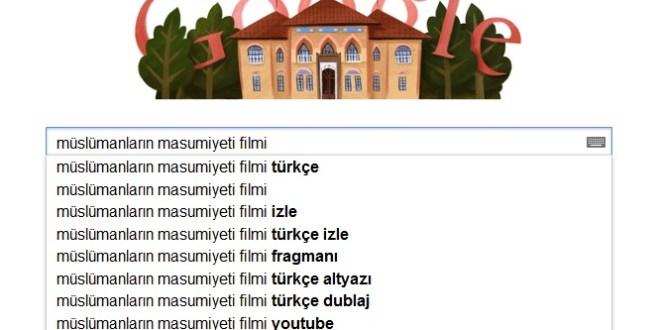 islama hakaret eden film ve google