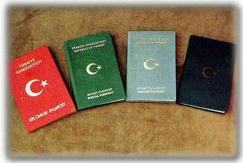 pasaport çeşitleri