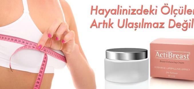 Actibreast Lipofilling Göğüs Kremi Yorumları