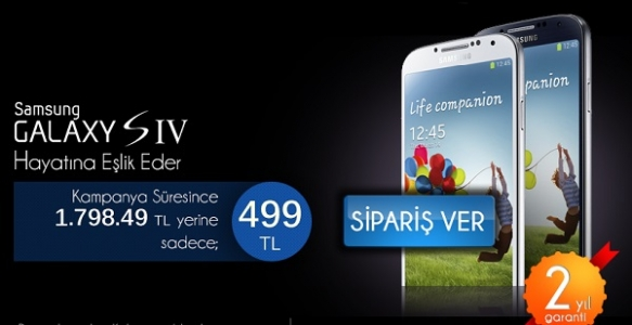 Dubai ve Kore Malı Samsung Galaxy S4 499 TL