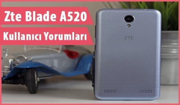 Zte Blade a520 Telefonu karşılaştırması