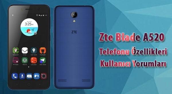 Zte Blade a520 kullanıcı yorumları