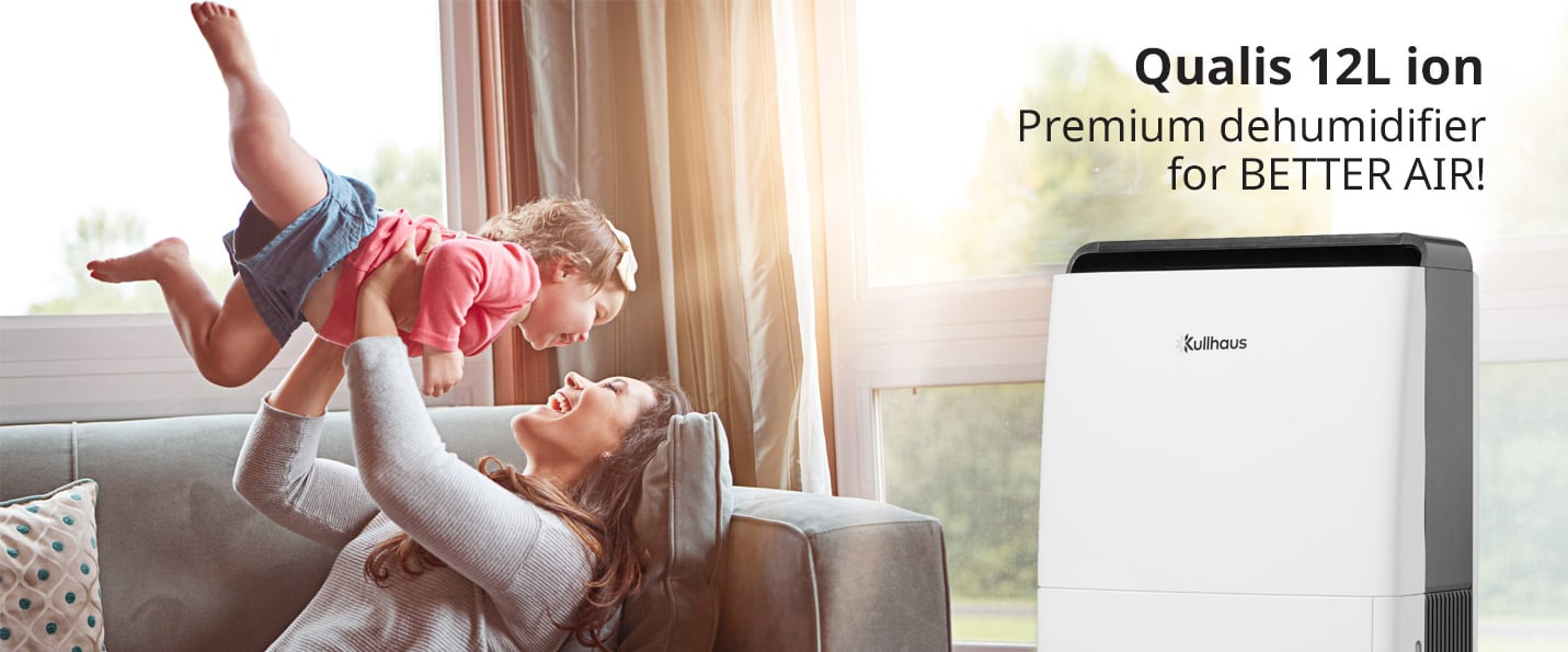 Kullhaus Qualis 12L premium dehumidifier