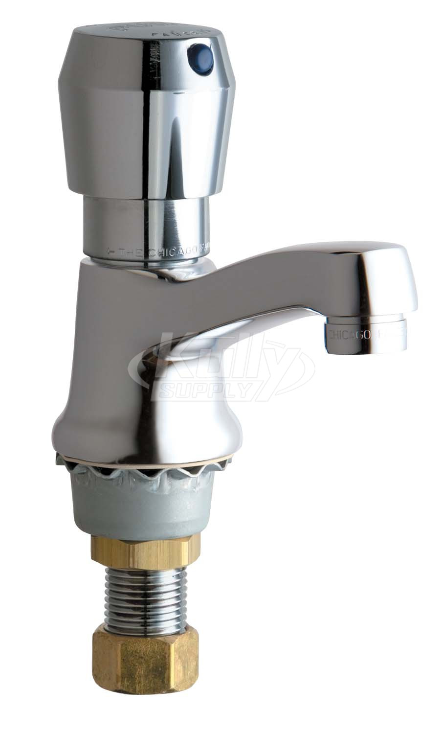 chicago 333 665pshabcp metering faucet