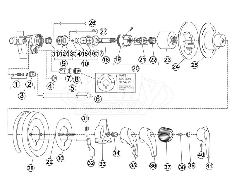 symmons temptrol parts breakdown