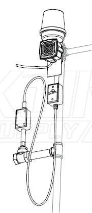 Bradley S19-320C Flow Switch Alarm & Light System (with