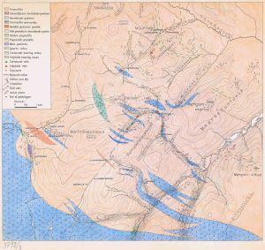 Lemmenjoen kivilajikartta 1950-luvun alkupuolelta kertoo myös niistä kullankaivajista, jotka jäivät jäljelle kultakuumeen hiivuttua. Klikkaaamalla karttaa pääsen katsomaan sitä GTK:n sivuilta.