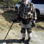 Kullanetsijä Robert Woodsin pukeutuminen ja varustus on loppuun asti mietitty käytännön tarpeita vastaavaksi . Hän on Sacramentosta.