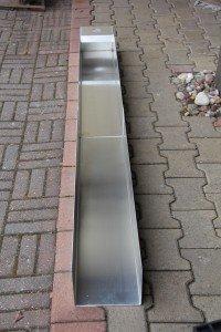 Kevyt jatkettava alumiiniränni, pituus 190 cm, koottuna 100 cm sopii henkilöautoon