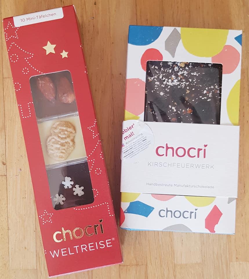 Handgemachte Schokolade