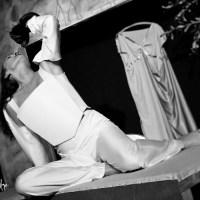 """Angelika Landwehrs Kassandrarufe rütteln auf und lassen nicht mehr los: """"Kassandra"""" nach Christa Wolf im Theater in der Washingtonallee"""