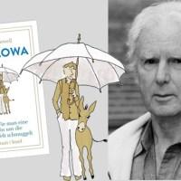 Rezension zu Brian Sewells erstem und letztem Roman »Pawlowa oder Wie man eine Eselin um die halbe Welt schmuggelt« / »The White Umbrella«