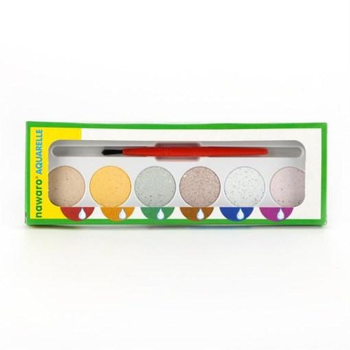 Nawaro Wasserfarbe Kartonetui 6 Farben