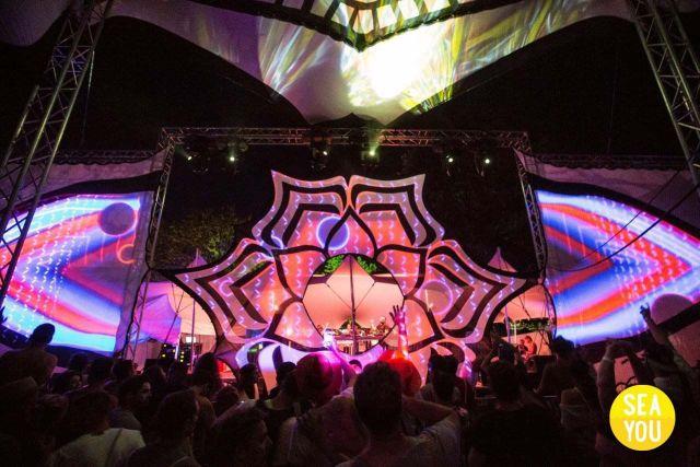 Sea You Festival Goa Zelt
