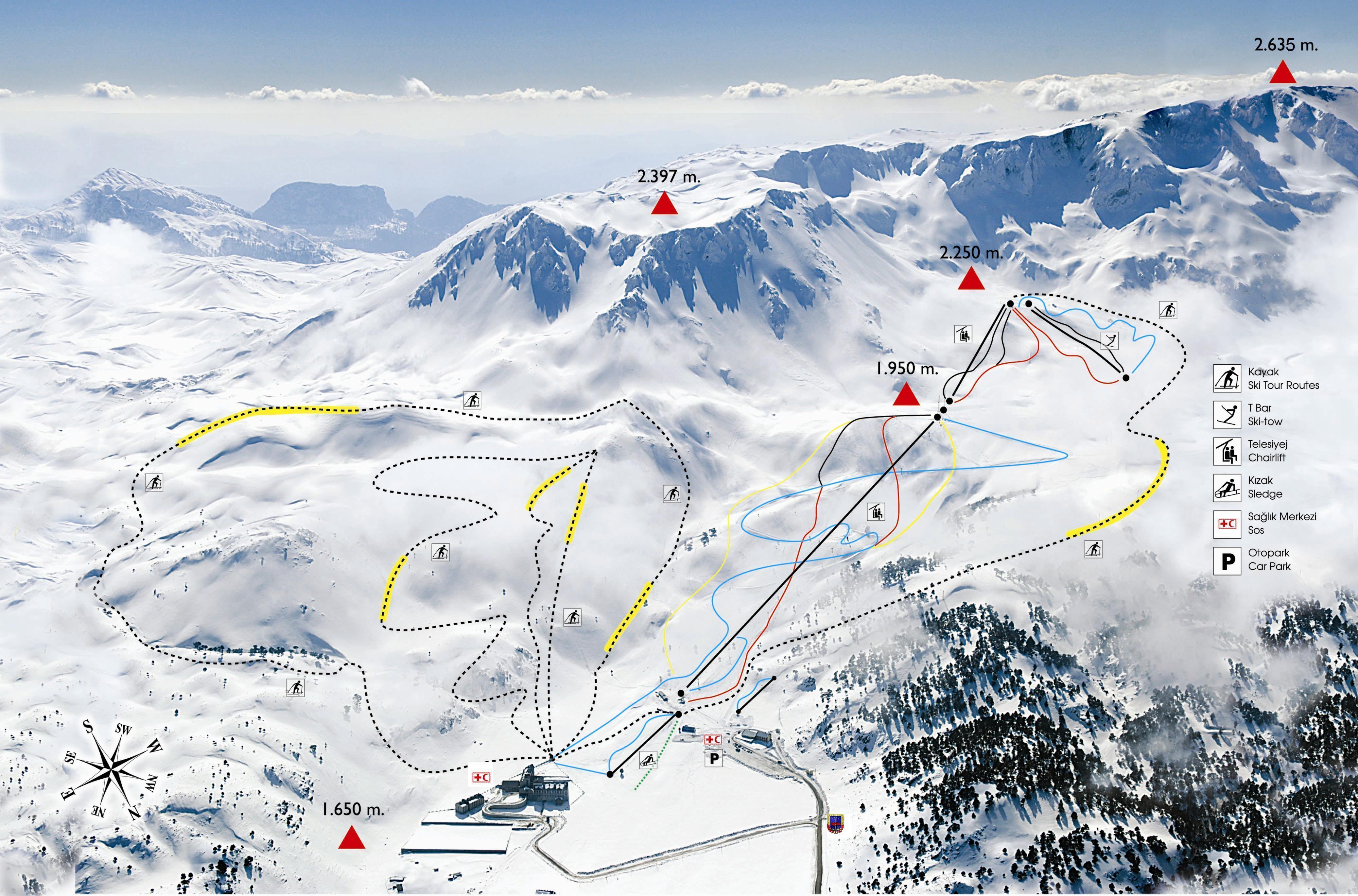 Kayak Pistleri