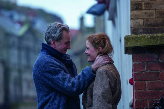 "Daniel Day-Lewis stars as ""Reynolds Woodcock"" and Vicky Krieps stars as ""Alma"" in writer/director Paul Thomas Anderson's PHANTOM THREAD, a Focus Features release. Credit : Laurie Sparham / Focus Features"