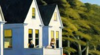 Edward Hopper Second Story Sunlight Olio su tela Whitney Museum of American Art, New York