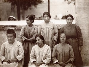 Donne rinchiuse nell'ospedale psichiatrico di Teramo durante il Regime
