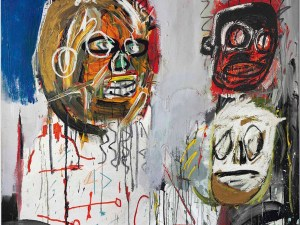 Jean-Michel Basquiat, Three Delegates, 1982