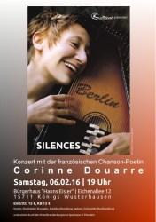 """Corinne Douarre """"Silences"""""""