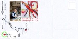 Flyer O.Atelier Rückseite