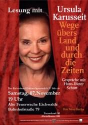 Ursula Karusseit: Wege übers Land und durch die Zeit