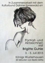 Portrait- und Aktzeichnen mit Brigitte Guhle