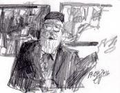 skizze paris von huxol