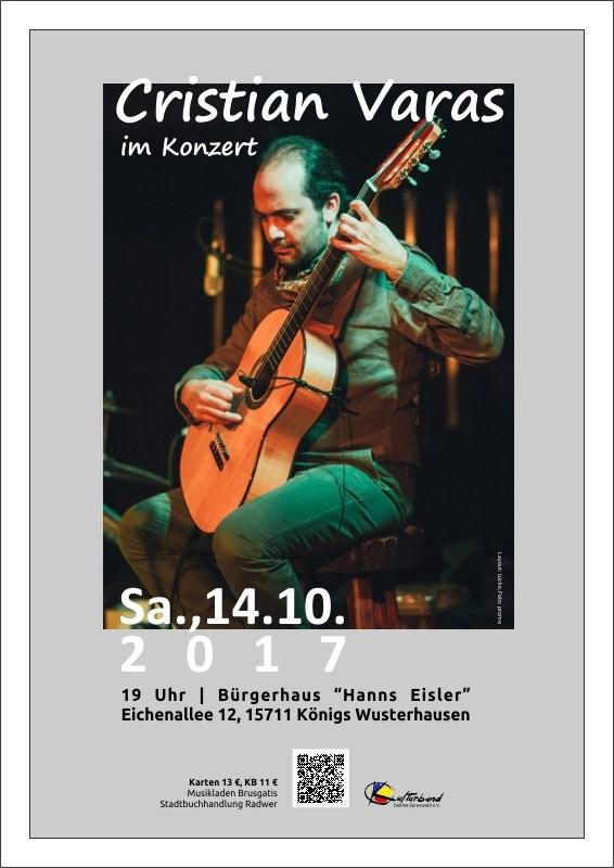 Cristián Varas im Konzert