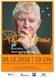 Satirische Weihnachtslesung mit Peter Bause