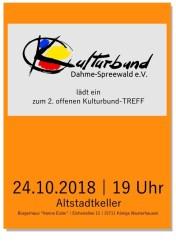 Zweiter offener Kulturbund-TREFF 2018