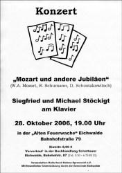 Mozart und andere Jubiläen