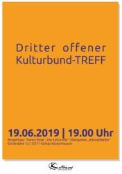 Dritter offener Kulturbund-TREFF
