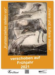 """Ausstellung """"Kunsterzieher stellen vor"""" - Bärbel Pruß """"Innere und äußere Welten"""""""