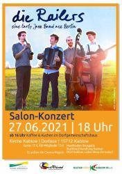 """Salonkonzert mit """"die Railers"""""""