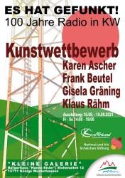 """Werkausstellung - """"Es hat gefunkt! 100 Jahre Radio in Königs Wusterhausen"""""""