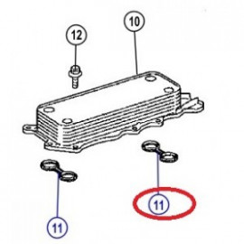 joint refroidisseur huile moteur JEEP Grand-Cherokee WH 3