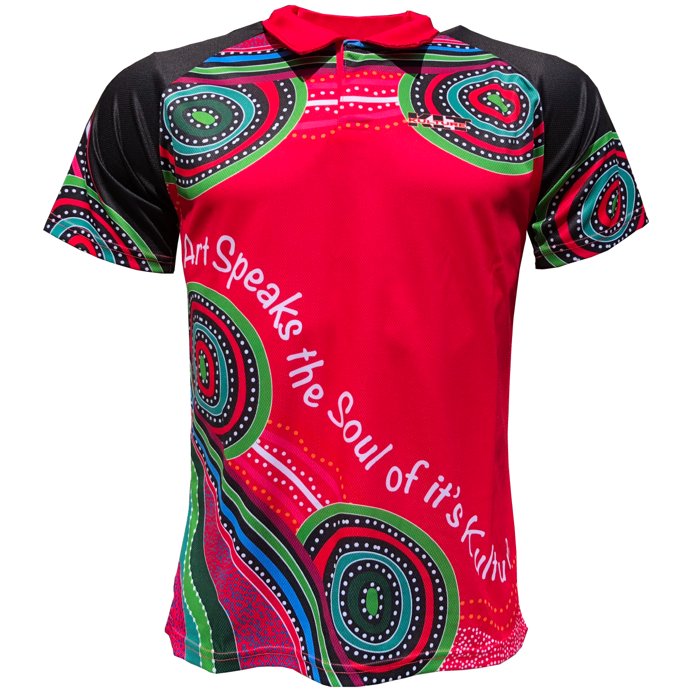 Australia Aboriginal Designed Polo Soul Of Its Kulture