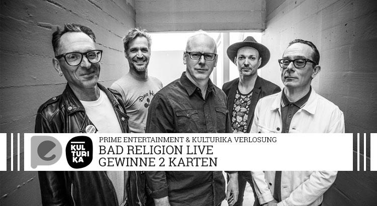 Verlosung von Tickets für das Konzert von Bad Religion im E-Werk Koeln am 09-07-2017