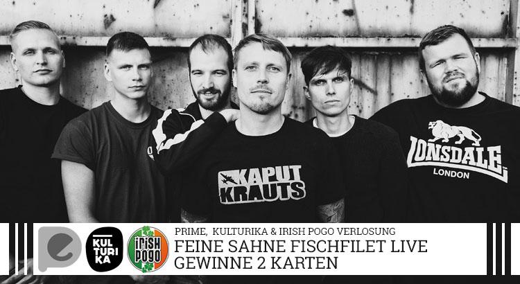 Verlosung Tickets Konzert Feine Sahne Fischfilet Palladium Köln 09-03-2018
