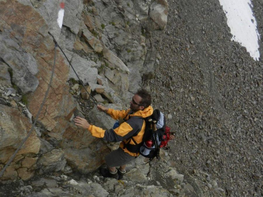 Abstieg vom Kuchenjöchli (c) CvG
