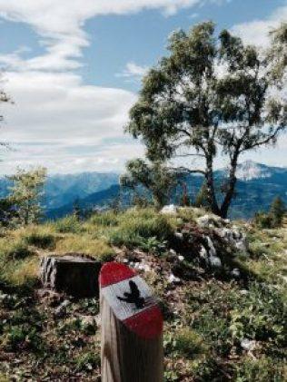 Zugna Torta: Schöne Ausblicke auf dem Sentiero della Pace