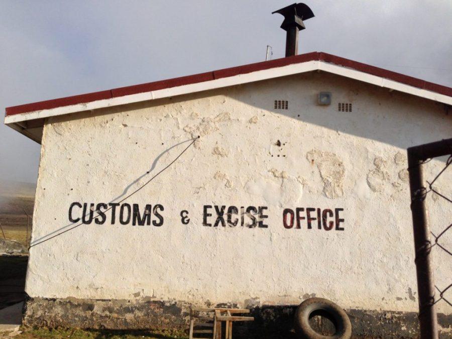 Sani Pass. Customs - 2013 (1)