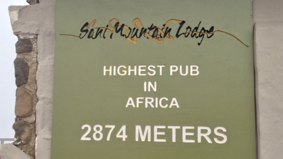 """Sani Mountain Lodge - The """"Highest pub in Africa"""""""
