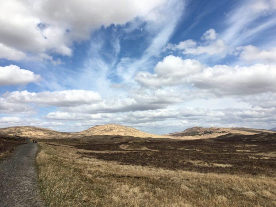 Im Rannoch Moor.