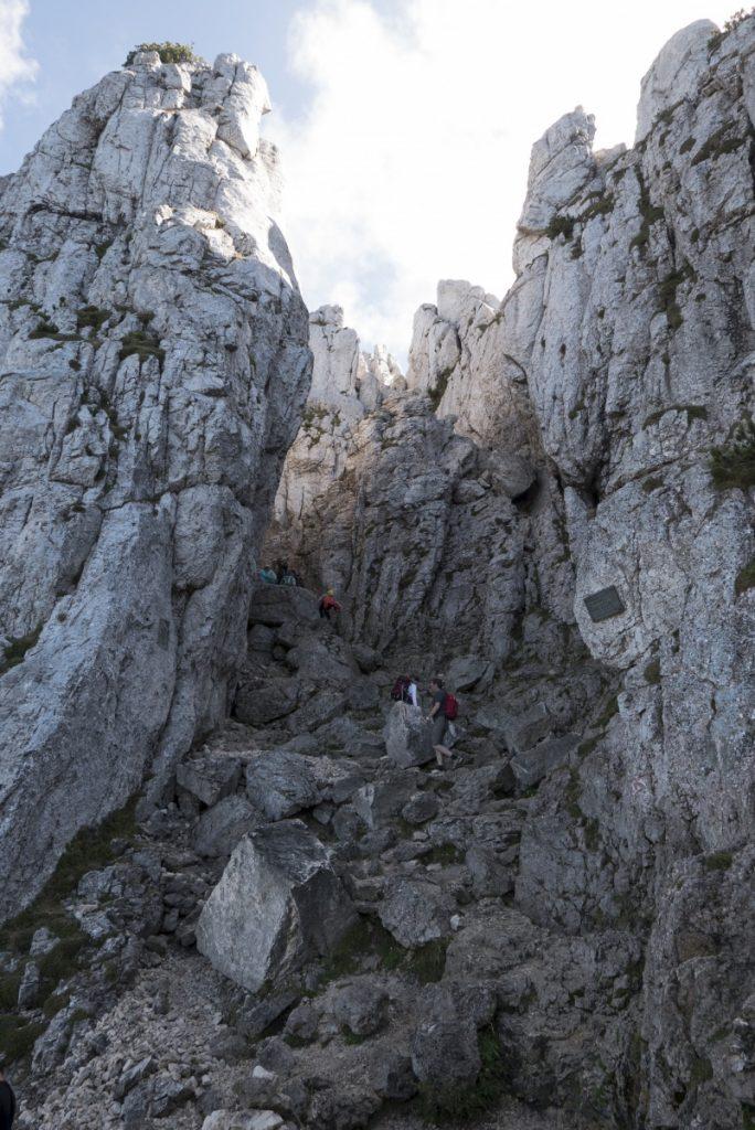 Fast erreicht: Kampenwand-Gipfel