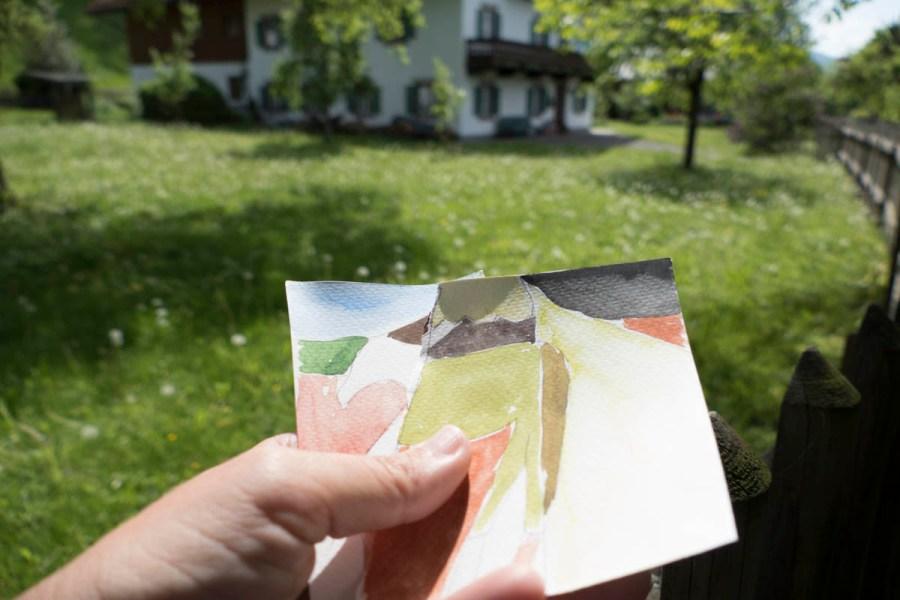 Kunst entdecken ... und selbst machen - beim geführten Kunstspaziergang.